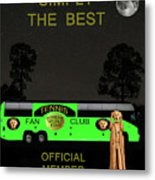 The Scream World Tour Tennis Tour Bus Simply The Best Metal Print