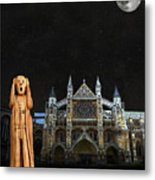The Scream World Tour Westminster Abbey Metal Print by Eric Kempson