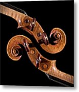 The Scroll And It's Clone Metal Print