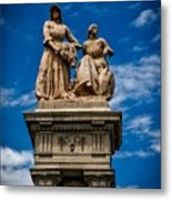 The Sculpture Agriculture Metal Print