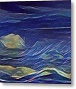 The Sea And Sky Where Thunder Sleeps Metal Print