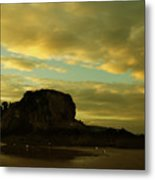 The Sea And The Rock Metal Print