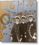 The Sea Captains Metal Print
