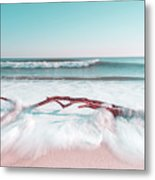 The Sea Green Ocean Fine Art Print Metal Print