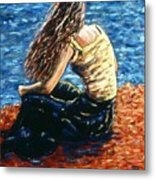 The Sea Priestess Metal Print