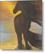 The  Searcher Metal Print