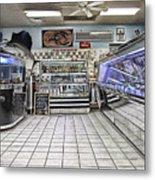 The Seafood Store Metal Print