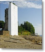 The Seamark On St Helens Beach Metal Print