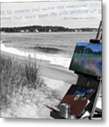 The Seashore Metal Print