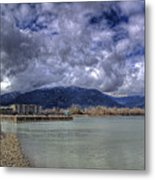 The Seasons On Lake Pend Oreille Metal Print