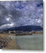 The Seasons Sandpoint Metal Print