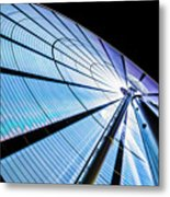 The Seattle Great Wheel Metal Print