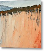 The Second Cliff Edge Metal Print