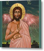 The Second Coming Of Christ The King 149 Metal Print