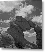 The Secret Arch Metal Print
