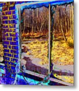 The Secret Window Metal Print