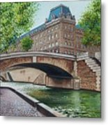 The Seine Metal Print