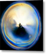 The Self In Introspection Metal Print