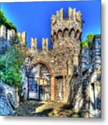 The Senator Castle - Il Castello Del Senatore Metal Print