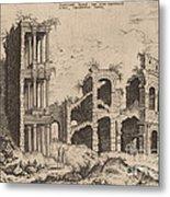 The Septizonium And The Colosseum Metal Print