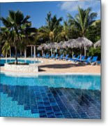 The Shades Of Blue Metal Print