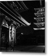 The Shadow Of The Temple Metal Print