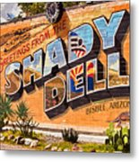 The Shady Dell Bisbee Az Metal Print