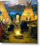 The Shamans Council Metal Print
