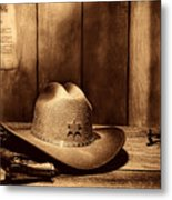 The Sheriff Office Metal Print