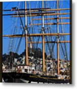 The Ship Balclutha Metal Print
