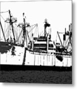The Ship Metal Print