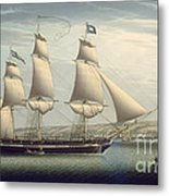 The Ship -favorite-maneuvering Off Greenock Metal Print