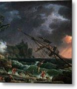 The Shipwreck Metal Print
