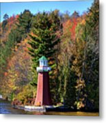 The Shoul Point Lighthouse Metal Print