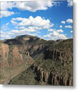 The Show Low Route Metal Print