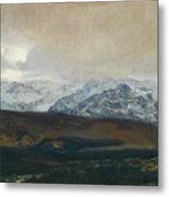 The Sierra De Guadarrama Metal Print