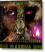 The Sighing Hours - The Floating Men Metal Print