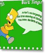 The Simpsons Metal Print