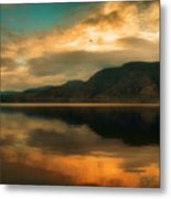 The Skaha Sunrise Metal Print