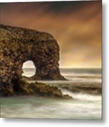 The Sky And The Arch Metal Print