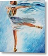 The Sky Dance Metal Print