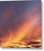 The Sky How It Moves Me Metal Print