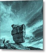 The Sky Seemed To Be Imperturbable At First.  Metal Print