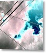 the sky...She came to me  Metal Print