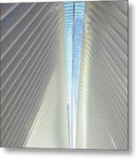 The Skylight Of  The Oculus Metal Print