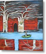 The Small Boat Metal Print