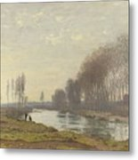 The Small Branch Of The Seine At Argenteuil Metal Print