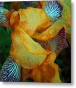 The Smell Of The Rain Metal Print