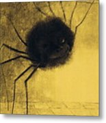 The Smiling Spider Metal Print