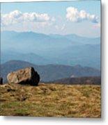 The Smokies From Roan Mountain I Metal Print